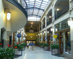 Historic Grove Arcade in downtown Asheville NC