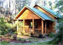 Secluded cabin rental near Brevard NC