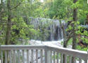enjoy a view of the waterfall