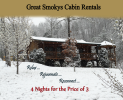 February and March Cabin Special