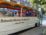 Asheville's Historic Trolly Tour shows all the highlights of the mountain city