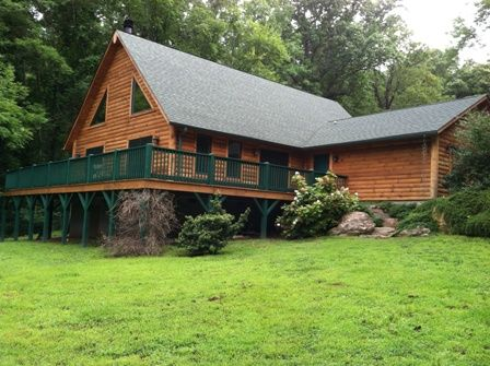 Mountain view cabin rental minutes from Asheville NC
