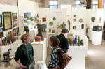 Asheville's River Arts District offers open studios, galleries, restaurants and special events