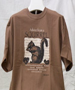White Squirrel Shoppe T-shirts